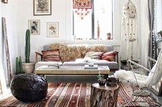 8 propuestas para lograr el estilo boho chic en tu casa  Boho chic, un estilo que se nutre de distintas corrientes estéticas para lograr ambientaciones relajadas.  /Bloglovin