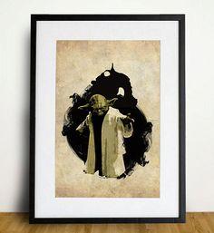 Star Wars Yoda 11X17 Print
