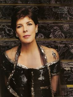 "Princess Caroline who once said ""I wish to be normal and not always known as the daughter of Grace kelly"""