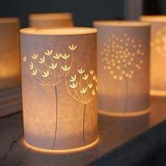 Breathtaking Papercut Lamps