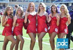Oklahoma Cheer and Pom ~ Oklahoma vs TCU PHOTO GALLERY ...