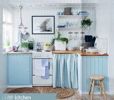 love!!amo questa cucina,piccola ma semplice!!!