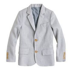 Boys' Ludlow suit jacket in linen- Coen and I both love these suits. He wants linen for summer and italian wool for winter.