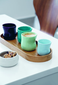 Time for coffee. Use your favourite Mano cup for a latte or an espresso.