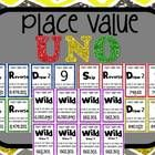 Place Value UNO: Whole Numbers & Decimals