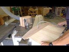 Travail du bois - le vide pour fixer un calibre - YouTube
