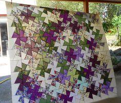 twister quilt | Judi Quilts: Twister template quilt