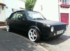 Mk1 Golf GTI Cabriolet, MOT, modified, rat look, | United Kingdom | Gumtree