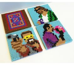 Lebowski Perler Bead Coasters > beetbox > Goodsmiths