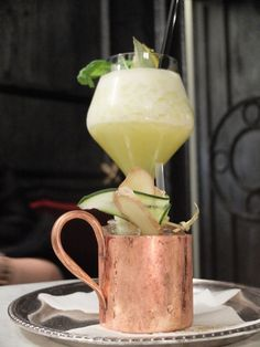 Moscow Mule cocktail at The Florian | Girl in Florence