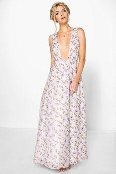 Shop for Anouk Floral Chiffon Wrap Maxi Dress by boohoo at ShopStyle. Best Maxi Dresses, Deb Dresses, Going Out Dresses, Pretty Dresses, Beautiful Dresses, Fashion Dresses, Prom Dresses, Skater Dresses, Maxi Wrap Dress