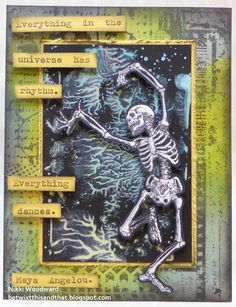 Halloween Card, using Lost Coast Designs images.