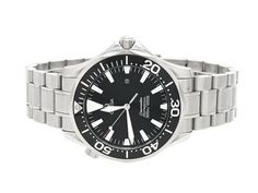 OMEGA, Seamaster Professional (300m/1000ft), Cal 1538, Serial no. 90071047, PIC no. 2264.50.00, Ref no. SU 196.1640, Case no. 196.1640, men´s wristwatch, 41 mm, steel, quartz, sapphire crystal, date, helium valvue, original bracelet, folding clasp, Ref no. 1610/930, approx 2007. #omega #seamaster #watches