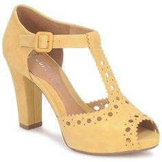 Beautiful shoes from Clarks and about as high a heel as I could or should or would wear