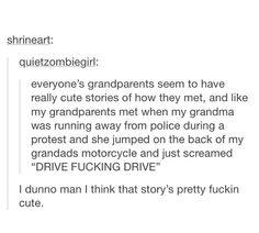 Aw aren't Grandparent just great!