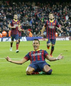 Alexis Sanchez. FC Barcelona