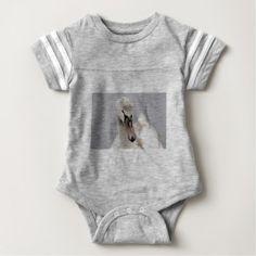 Swan Proud To Be A Swan Pride Water Bird Nature.jp Baby Bodysuit -nature diy customize sprecial design
