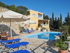 Villa per 7 persone, 3 camere da lettoCase vacanze in Paxi (Paxos) da @HomeAway Italia
