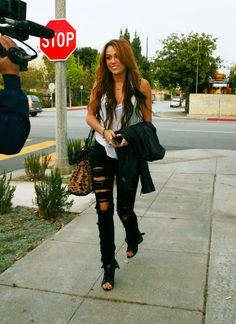 Miley back in 2012! Love her style