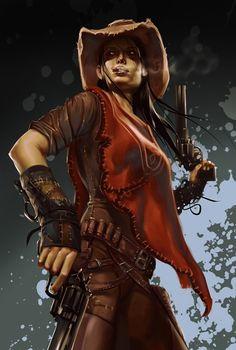 Gunslinger by Grobi-Grafik.deviantart.com on @DeviantArt