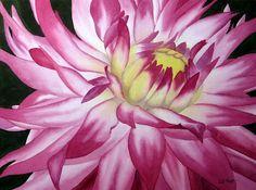 Stamp-n-Design: Watercolor Flower Paintings