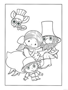 Rumcajs - Manka - Cipísek Coloring Pages For Kids, Coloring Books, Childhood Stories, Nursery Rhymes, Paper Goods, Fairy Tales, Mandala, Snoopy, Embroidery