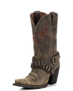 Stand out with the Goodtime Boot. Colt Ford and Rebel Boots mix gunsmoke and perfume to get this amazing style.