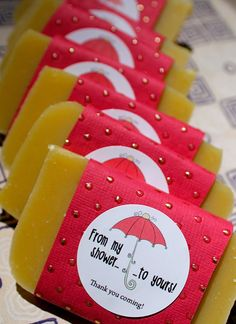 NEW Ten 10 From My Shower To Yours Soap Favors  by daisycakessoap, 20.00