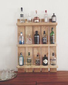 Einen Gin Tonic bitte! [ Regal aus Palette ] - do it but do it now - Noch ein Blog über DIY, Interior, Food & Berlin