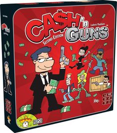 Cash 'n guns Second Edition Board Game: Amazon.co.uk: Toys & Games