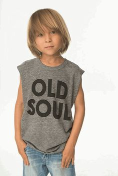 Chaser Kids Old Soul Muscle Tank
