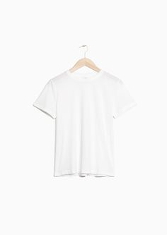 & Other Stories image 1 of Cotton Tee in White