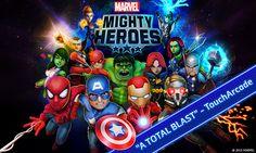 최근 빠져있는 모바일 게임 Marvel Mighty Heroes