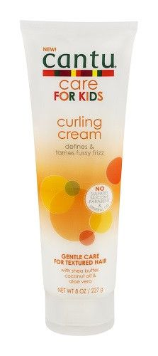 New Cantu Curling Cream For Kids. Defines moisturizes and adds manageability to curls leaving them soft and deeply moisturized. Made with pure shea butter coconut oil & aloe vera without ha Natural Baby, Natural Hair Care, Natural Hair Styles, Long Hair Styles, Natural Kids, Natural Makeup, Natural Hairstyles For Kids, Little Girl Hairstyles, Teenage Hairstyles