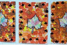 Feuille d'automne - Arts visuels