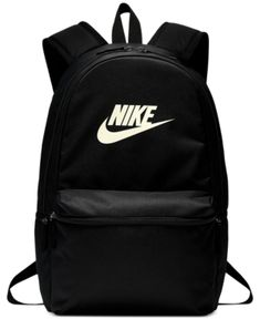 762f2c8409 Nike Heritage Metallic-Logo Backpack - Gray