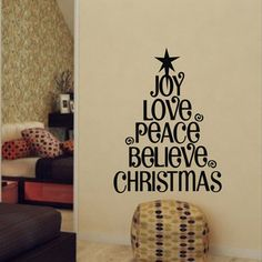 Christmas canvas idea