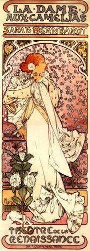 Del Art Nuveau, mi favorito, Alphose Mucha.
