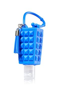 Blue Studded - PocketBac Holder - Bath & Body Works - Studded with style! This chic holder features an adjustable strap that attaches to your backpack, purse and more so you can always keep your favorite sanitizer close at hand. Best Hand Sanitizer, Hand Sanitizer Holder, True Blue Spa, Fragrance Lotion, Bath And Bodyworks, Travel Size Products, Body Products, Body Lotions, Shower Gel