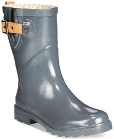 Chooka Top Solid Mid Rain Boots