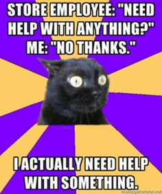 social anxiety meme.