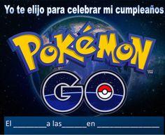 Ideas, decoración y manualidades para fiestas: Ideas para las Invitaciones de tu fiesta Pokemon g...