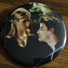 Buffy the Vampire Slayer Inspired Pinback Button by famedazed
