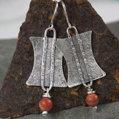 Tribal silver earrings £42.00