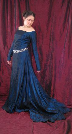 Blue Dress 7 by aelthwyn.deviantart.com on @deviantART