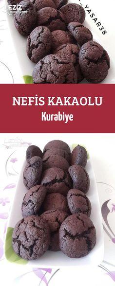 Nefis Kakaolu Kurabiye Meals, Cookies, Chocolate, Breakfast, Cake, Desserts, Recipes, Food, Angel