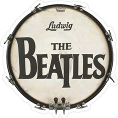 Beatles Bass, The Beatles, Guitar Guy, Guitar Tabs, Window Stickers, Bumper Stickers, Beatles Birthday, Rock Band Logos, Drum Pad