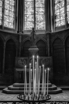 Projet P52BW13 by Fabrice Denis on 500px Week 47 : Candles