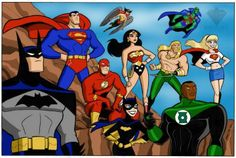 WebQuest: A Hero is Born: created with Zunal WebQuest Maker Justice League Task Force, Justice League Unlimited, Superhero Shows, Superhero Room, Comic Books Art, Comic Art, Book Art, Bruce Timm, Batman Art