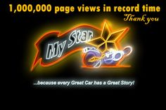MSCC hit another 1,000,000 page views in record time. Here's how: http://www.mystarcollectorcar.com/2-features/editorials/2638-crossing-a-million-page-views-in-record-timethanks-for-the-help.html